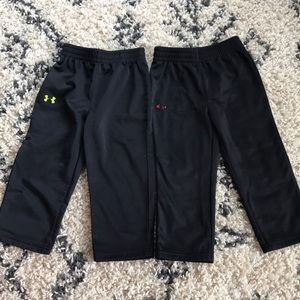 2 Pair of Under Armour Sweat Pants 2T